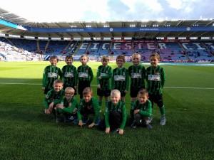 Team in the stadium